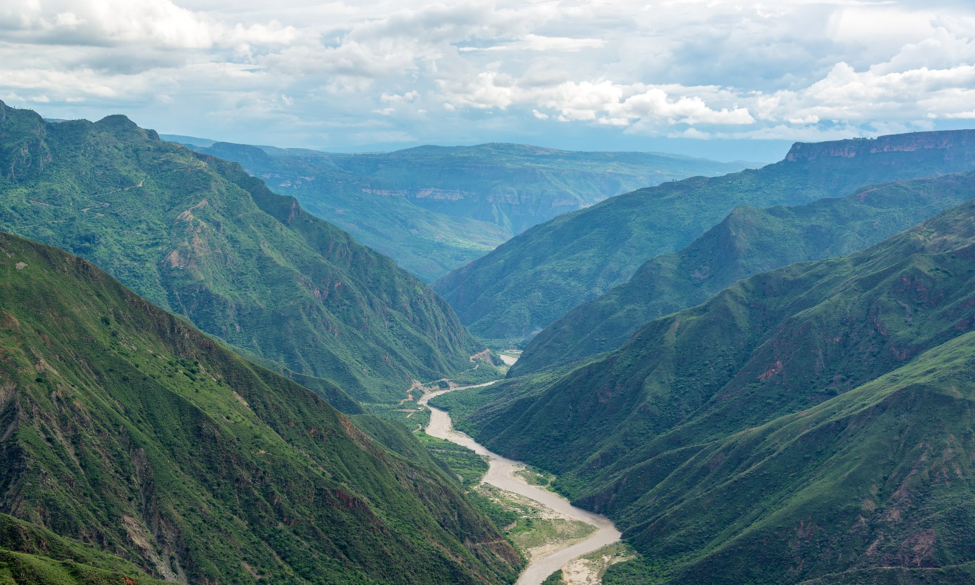 Chicamocha Canyon in Colombia